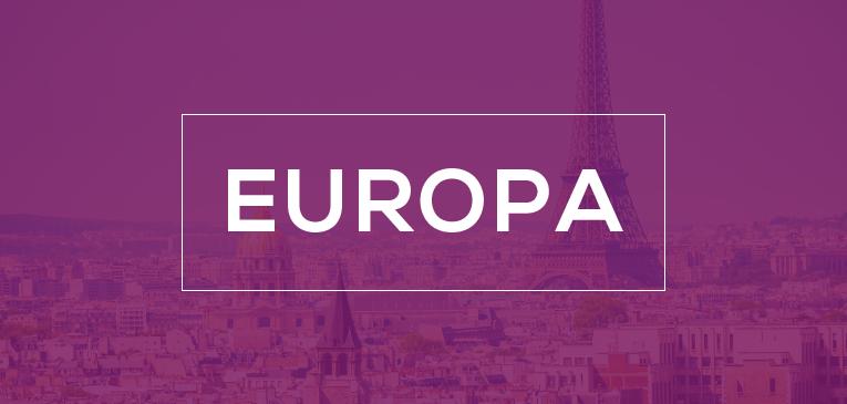 Paquetes a Europa